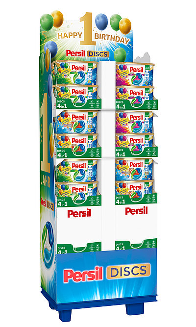 POS Promotion Persil Discs