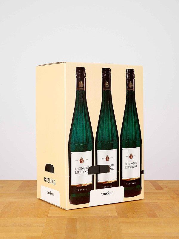 Weinstandards von Brohl Wellpappe