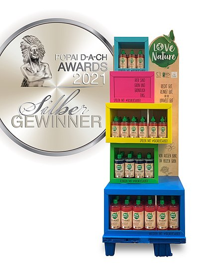 Henkel Love Nature Display Popai Award