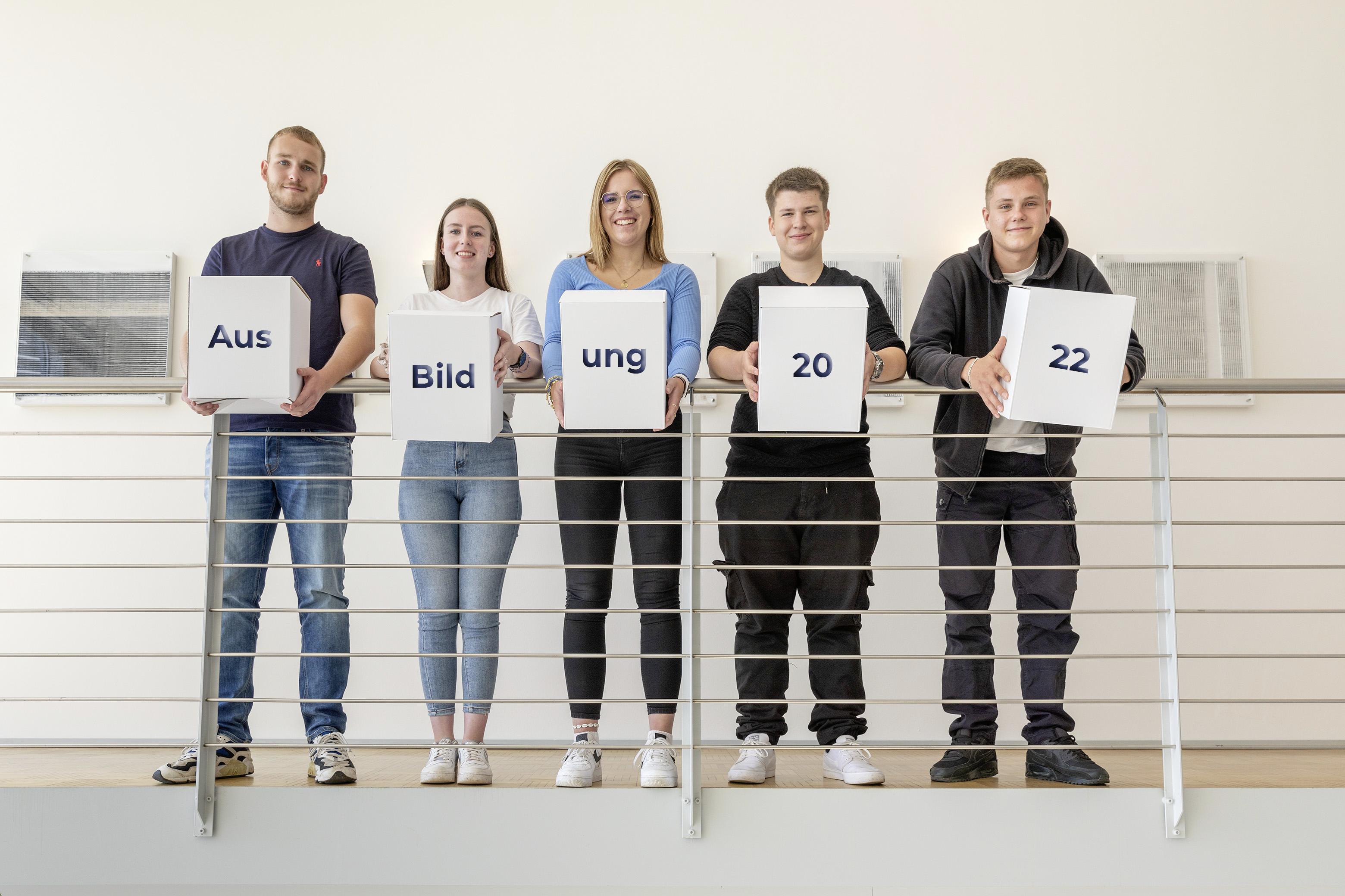 Auszubildende Brohl Wellpappe 2022
