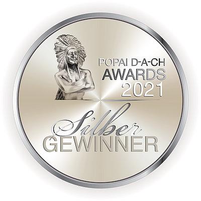 Silber Auszeichnung Popai Award für Brohl Wellpappe 2021