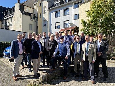 Mitarbeiterinnen und Mitarbeiter von Brohl Wellpappe Jubiläum 2020