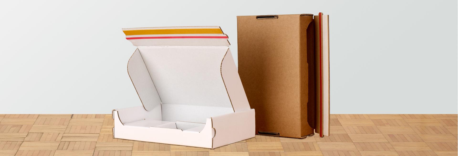 E-Commerce Verpackungen aus Wellpappe für den Online Versand
