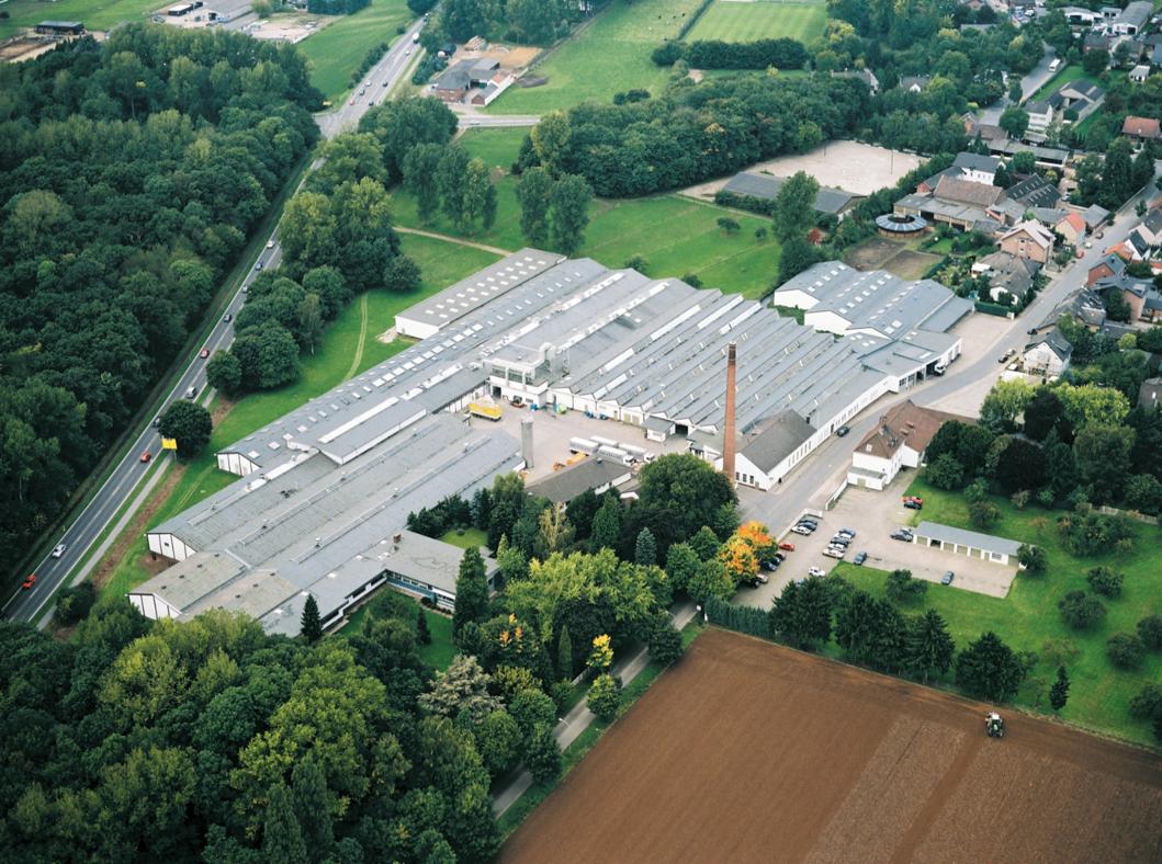 Luftaufnahme Werk Niederzier Brohl Wellappe