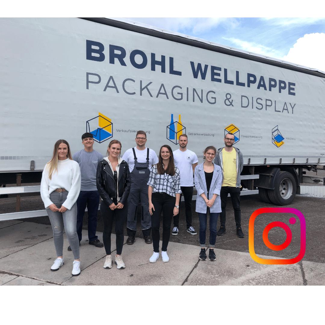Instagram Team von Brohl Wellpappe aus Mayen und Föhren
