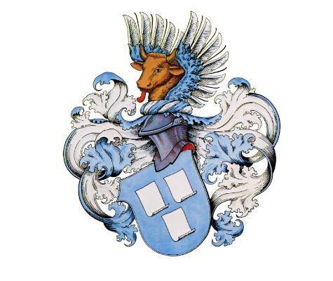 Historisches Wappen der Papiermacher