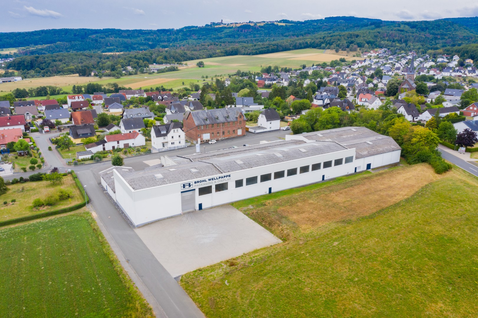 Standort Fleisbach Brohl Wellpappe